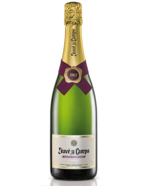 Putojantis vynas Juve y Camps Cinta Purpura Reserva Semiseco 12%, 750ml