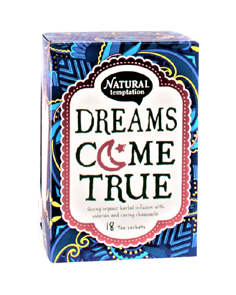 Ekologiška arbata NATURAL TEMPTATION Dreams Come True, 18 maišelių