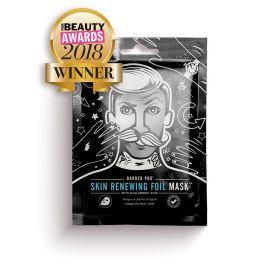 Odą atnaujinanti veido kaukė BEAUTY PRO Barber Pro su hialurono rūgštimi ir Q10, 25 ml