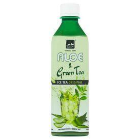 Alavijų ir žaliosios arbatos gaivusis gėrimas TROPICAL 500ml