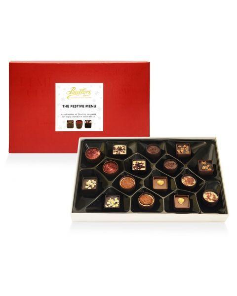 Šventinis šokoladinių saldainių rinkinys BUTLERS, 260 g 2