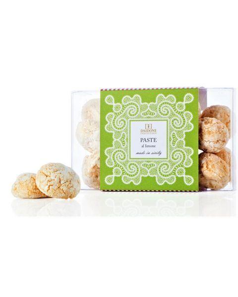 """Citrininiai sausainiai DAIDONE """"PASTE al limone"""", 100 g"""