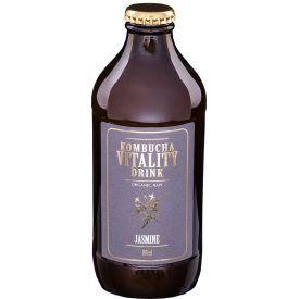Kombučia VITALITY DRINK Jazminų skonio, 355 ml