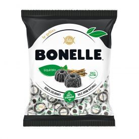 Minkšti saldymedžio skonio saldainiai BONELLE, 160 g