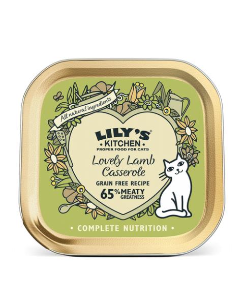 Konservai katėms LILY'S KITCHEN su ėriena, 85 g