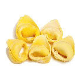 """Įdaryti makaronai """"Panzerotto"""" su ožkų pieno sūriu ir karamelizuotais svogūnais TRADIZIONI PADANE, 250g"""