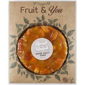Abrikosų ir migdolų pyragas FRUIT & YOU, 200 g
