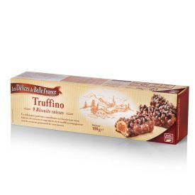 Sausainiai Truffino LES DELICES DE BELLE su šokoladu ir riešutais, 100g