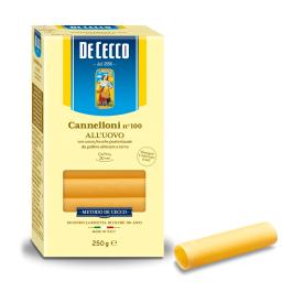 Makaronai su kiaušiniais DECECCO Cannelloni, 250 g