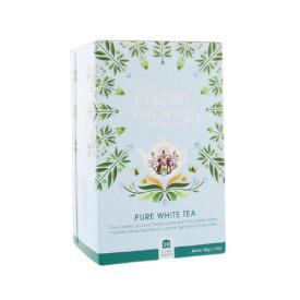 Ekologiška arbata ENGLISH TEA SHOP White tea, 20 maišelių