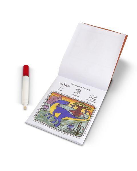 "Magiška spalvinimo knygelė MELISSA & DOUG ""Dinosaurs"", 1 vnt. 2"