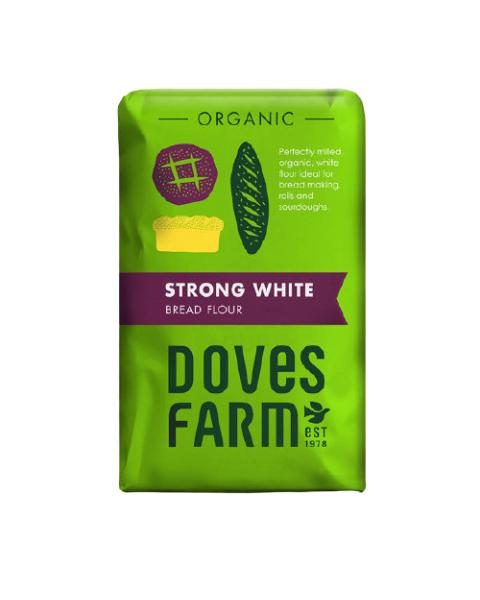 Ekologiški baltieji miltai duonai DOVES FARM Strong 1,5 kg