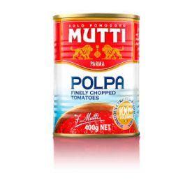 Trinti pomidorai MUTTI, 400 g