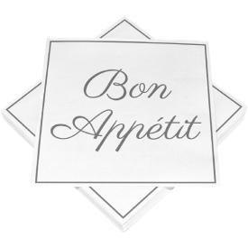 Serviravimo servetėlės HEKU Bon Appetit, 3 sluoksnių, 33 x 33 cm, 20 vnt