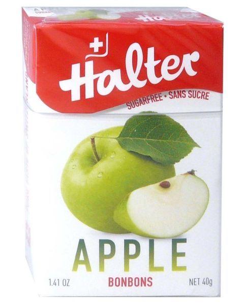 Becukriai ledinukai obuolių skonio HALTER, 40 g