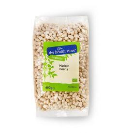 Ekologiškos baltosios pupelės THS ORGANIC, 500 g