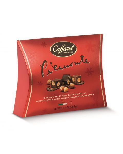 """Šokoladinių saldainių rinkinys CAFFAREL """"Red Piemonte"""", 200 g"""