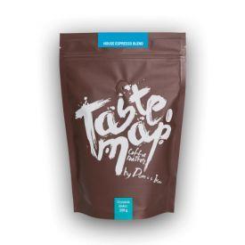 Šviežiai skrudinta kava Taste Map HOUSE ESPRESSO BLEND, 250g pupelės