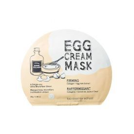 Stangrinamoji veido kaukė su kolagenu TOO COOL FOR SCHOOL Egg Cream (28 g), 1 vnt.