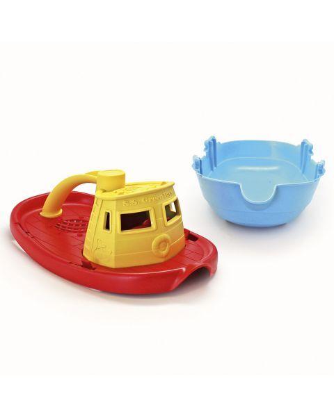 Laivas GREEN TOYS ™ (geltona, raudona), 1 vnt. 3