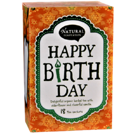 Ekologiška arbata NATURAL TEMPTATION Happy Birthday, 18 maišelių