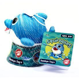 """Vonios žaisliukas """"Squirbbles"""" Melsvas delfiniukas, 1 vnt"""