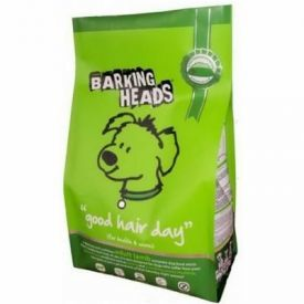 Sausas ėdalas BARKING HEADS Bad Hair Day su ėriena ir ryžiais, 1.5kg