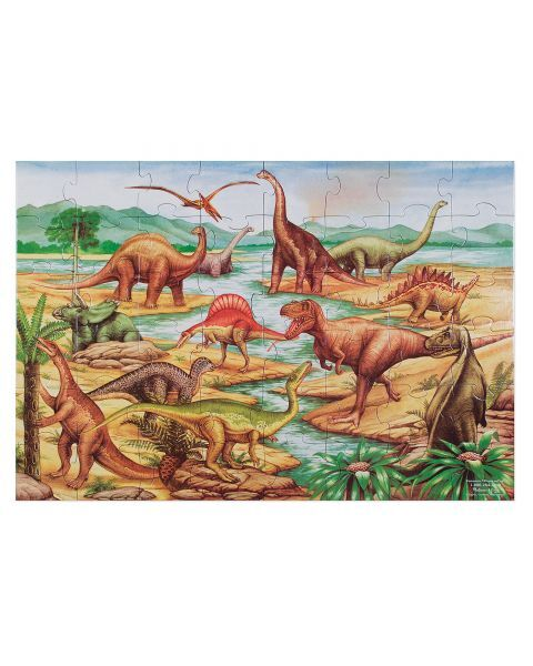 "Dėlionė (48 detalės) MELISSA & DOUG ""Dinosaurs"", 1 vnt. 3"