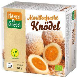 Šaldyti veganiški varškės virtiniai su abrikosų įdaru HANSEL&GRETEL, ekologiški, 300g