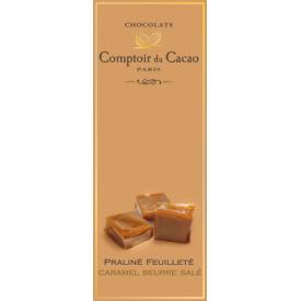 Šokoladas COMPTOIR du CACAO, su sūrios karamelės įdaru, 80 g