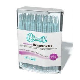 Dantų krapštukas su šepetėliu CLEANPIK Interdental BrushPicks, 150 vnt