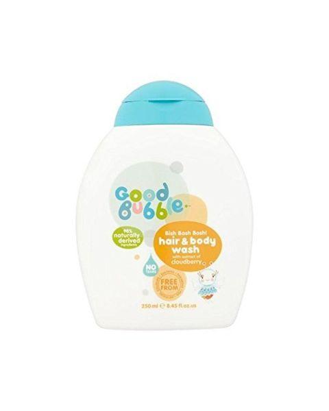 Plaukų ir kūno prausiklis GOOD BUBBLE su tekšnės ekstraktu, 250 ml