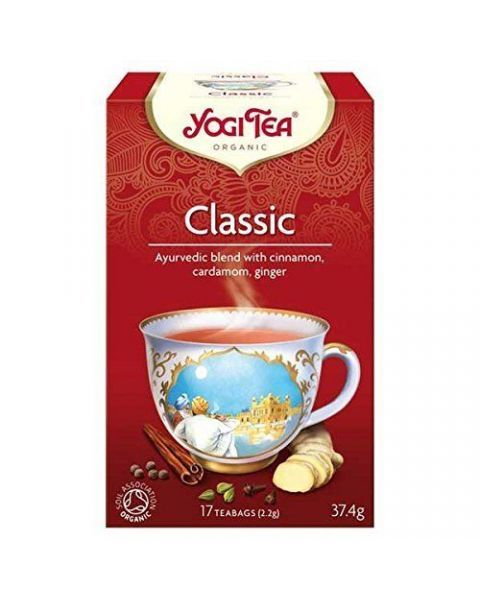 YOGI TEA Classic ekologiška ajurvedinė arbata, 37,4g