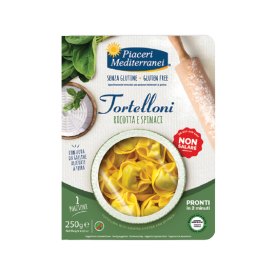 Tortellini su Ricotta sūriu ir špinatais PIACERI MEDITERRANEI, 250 g