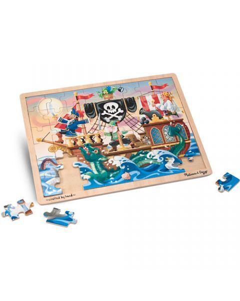 "Dėlionė (48 detalės) MELISSA & DOUG ""Pirate Adventure"", 1 vnt. 2"