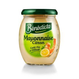 Majonezas BENEDICTA su citrinomis 255g