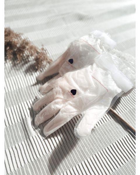 Daugkartinė parafino rankų kaukė - pirštinės LECLER, 1 vnt 2