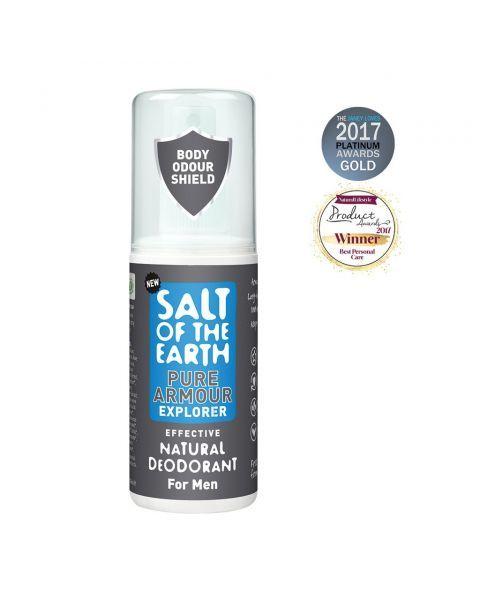 Purškiamas dezodorantas SALT OF THE EARTH Pure Explorer, 100 ml