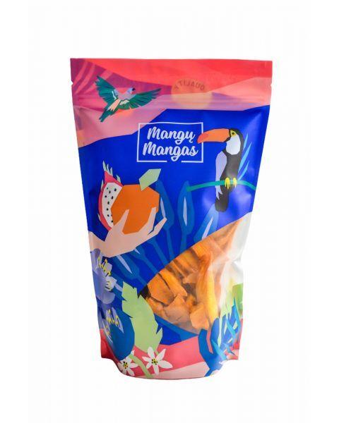 Džiovintų mangų juostelės, 400g