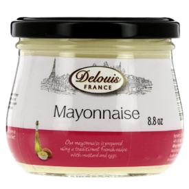 Prancūziškas majonezas DELOUIS su garstyčiomis, 250 g