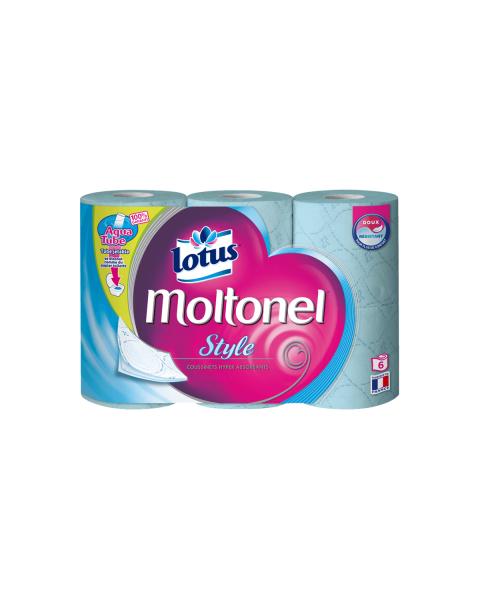 Tualetinis popierius Lotus Moltonel Style (3 sluoksnių), 6 vnt.