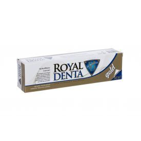 Dantų pasta ROYAL DENTA Gold su auksu, 130 g