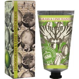 """Rankų kremas ENGLISH SOAP """"Kew Gardens"""" su citrinžole ir laimu, 75 ml"""