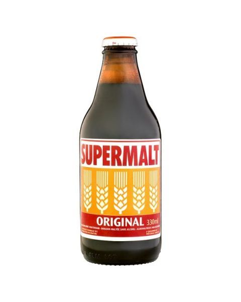 Nealkoholinis salyklo gėrimas SUPERMALT 330ml