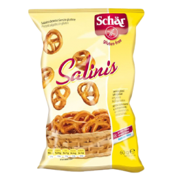 Sūrūs riestainėliai SCHAR Salinis be gliuteno, 60g