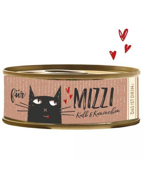 Konservai katėms BUBECK Mizzi su veršiena ir triušiena, 100 g