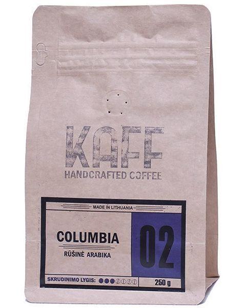 Kavos pupelės KAFF Columbia, 250g