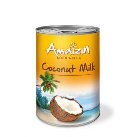 Ekologiškas kokosų pienas 17% AMAIZIN, 400ml