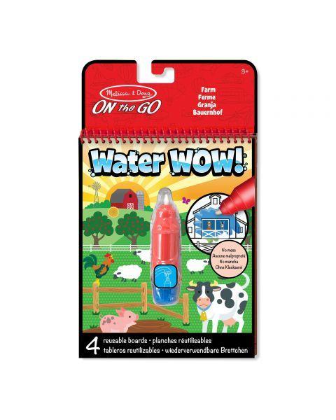 "Spalvinimo vandeniu rinkinys MELISSA & DOUG ""Farm"", 1 vnt."