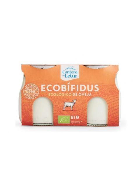 Ekologiškas avių pieno jogurtas su bifidobakterijomis CANTERO DE LETUR, 6% rieb., 2x125g